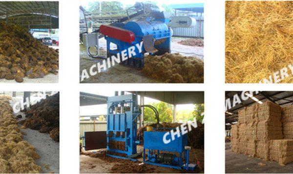 oil palm empty fruit bunch( EFB) FIBER MACHINE