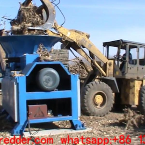 tree stump grinding shredder